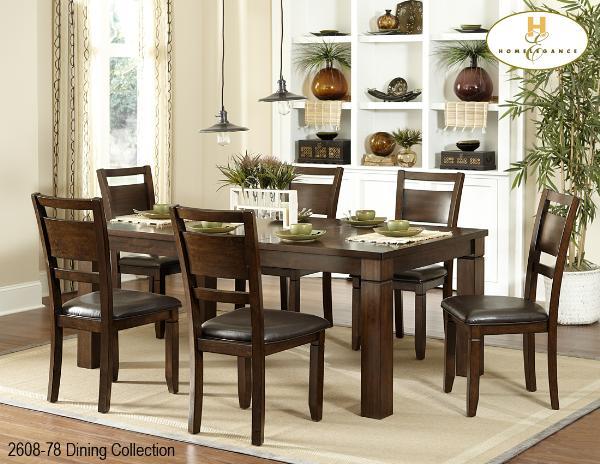 Marston Collection Rectangular Dining Set 2615DC 722615DC