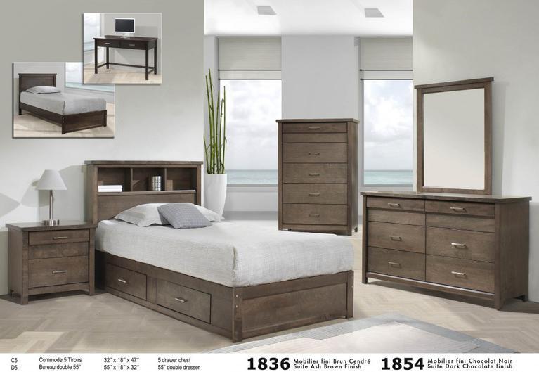Bien-aimé Adult Bedrooms,Youth Beedroom,Platform Beds FW75