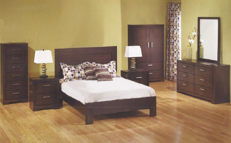 IDLF 2085 Bedroom Set Available In Coffee Colour