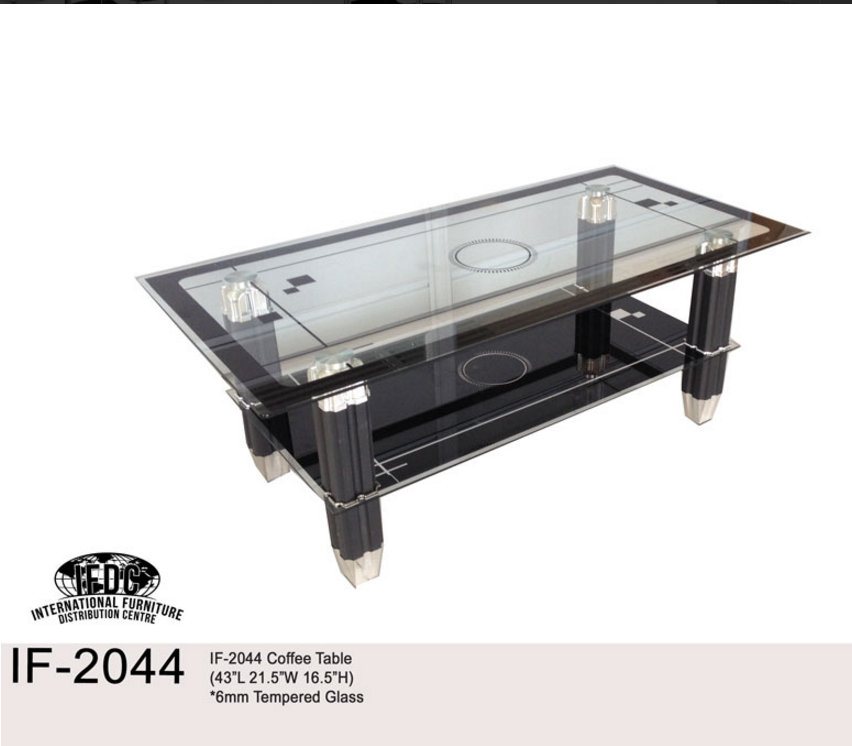 Tempered Glass Coffee Table With Drawers: Scarborough, Ontario M1R 3A4