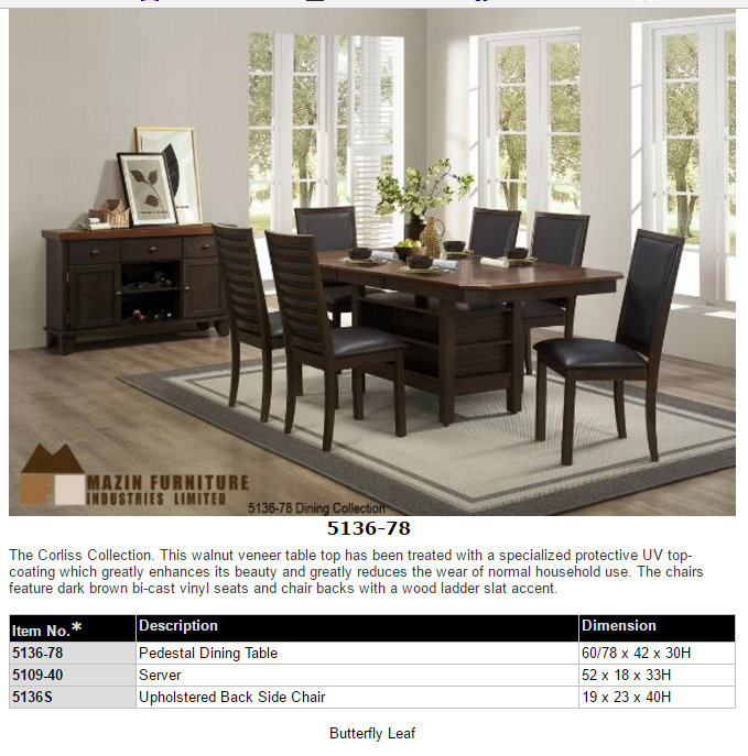 All products dining room furniture brampton