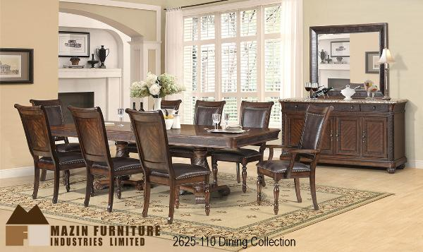Dining Set Cherry Finish 3283 78 Rich Cherry V Match Veneer Table Tops  Chairs With Padded Leatherette Seats